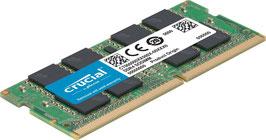 Crucial CT16G4SFD824A Arbeitsspeicher (16GB DDR4, 2400 MT/s (PC4-19200) SODIMM 260-Pin)