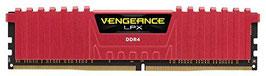 Corsair CMK16GX4M2B3200C16R Vengeance LPX 16GB (2x8GB) DDR4 3200MHz C16 XMP 2.0 High Performance Desktop Arbeitsspeicher Kit, rot