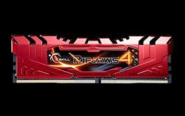 G.Skill F4-2400C15-16GRR Ripjaws 4 Serie Arbeitsspeicher 16GB (2400MHz, 288-polig, XMP 2.0, CL15, 2x 8GB) DDR4-RAM Kit