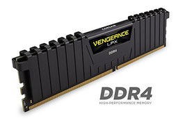Corsair CMK16GX4M2B3200C16 Vengeance LPX 16GB (2x8GB) DDR4 3200MHz C16 XMP 2.0 High Performance Desktop Arbeitsspeicher Kit, schwarz