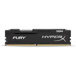 HyperX FURY HX421C14FBK2/8 8GB Arbeitsspeicher kit (2x 4GB) 2133MHz DDR4 Non-ECC CL14 DIMM (Skylake compatible)
