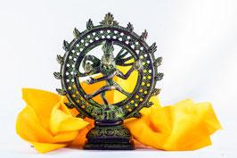 Shiva Nataraj Messing grün