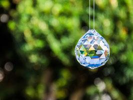 Regenbogenkristall Kugel