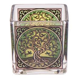 Teelichtglas Lebensbaum