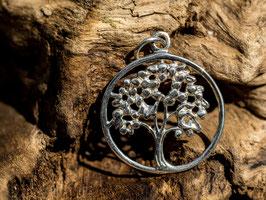 Yggdrasil - der Weltenbaum, Anhänger 925 Sterling