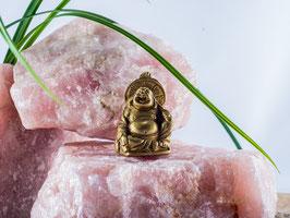 Happy Buddha aus Messing
