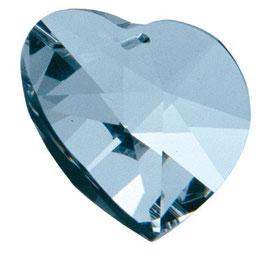 Regenbogenkristall-Herz