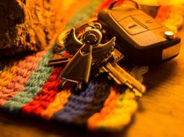 Schutzengel als Schlüsselanhänger
