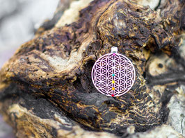 Blume des Lebens Chakra Anhänger