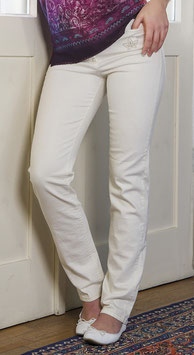 Bio-Jeans mit mikrofeinem Rosenquarz