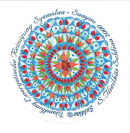 "Suldiaa Venus Mandalas - ""Wandlung"" -Aufkleber"