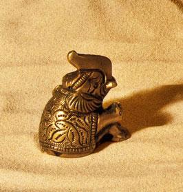 Gückselefant aus Messing