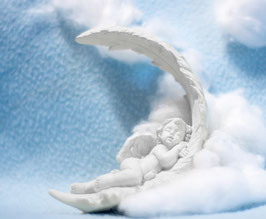 Engel auf Feder