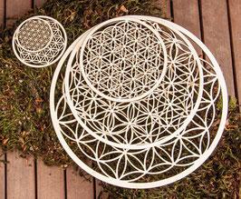 5 - teiliges Set -Blume des Lebens Wandschmuck