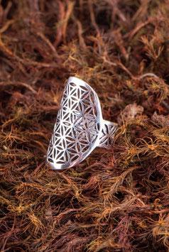 Ring - Blume des Lebens