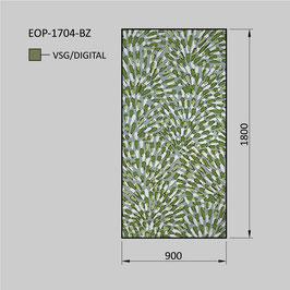 Zaunelement - Glas EOP-1704-BZ