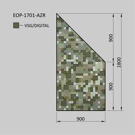 Zaunelement - Glas EOP-1701-AZR (RECHTS)
