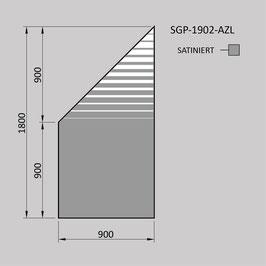 Zaunelement - Glas SGP-1902-AZL (LINKS)