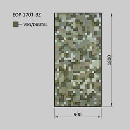 Zaunelement - Glas EOP-1701-BZ