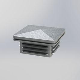 GroJa Ambiente - Kappe für Zaunpfosten 6 x 6 cm