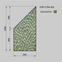 Zaunelement - Glas EOP-1704-AZL (LINKS)