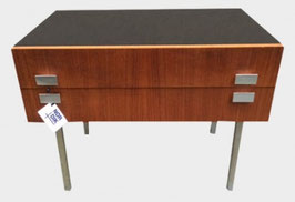 Commode 2 tiroirs 1960 Danemark