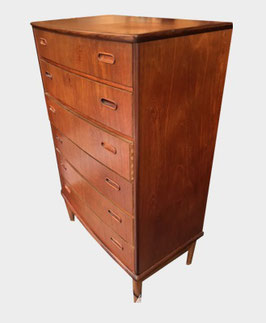 Commode danoise en teck 1960