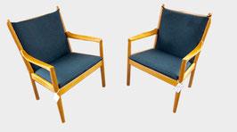 Paire de fauteuils Signés Hans Wegner