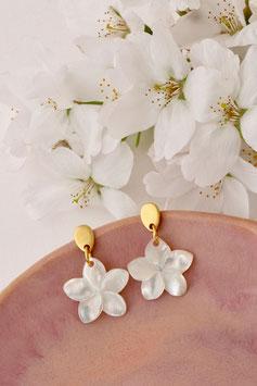 Fleur - Ohrstecker oder Ohrhänger