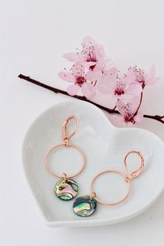 Delia Ohrringe rosegold