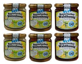 Sparpaket Bio-Honig aus Bayern
