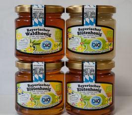Kleines Sparpaket Bio-Honig aus Bayern