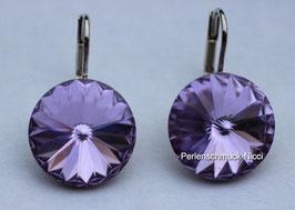 Ohrhänger 12 mm Violet