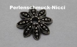 Perlenkappen 15 mm Blume