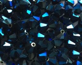 Metallic Blue 2x 6 mm