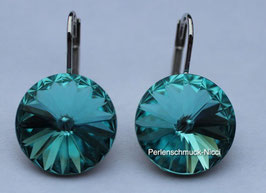 Ohrhänger 12 mm Light Turquoise