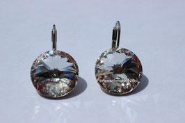 Ohrhänger 12 mm Crystal