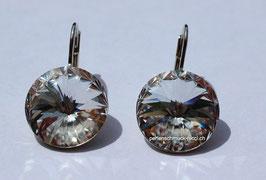 Ohrhänger 14 mm Crystal
