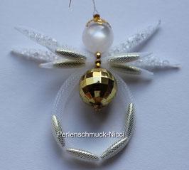 Schlauch-Engel Goldkugel