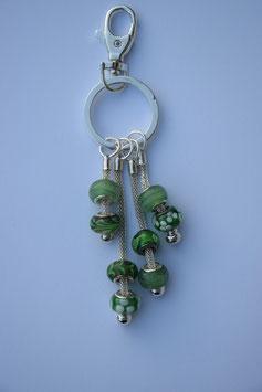 Glasperlen grün 1