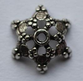 Perlenkappe Stern 17 mm
