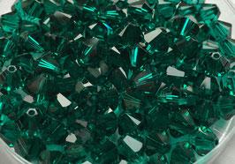 Emerald Bicone 6 mm