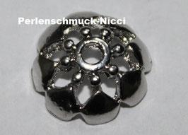 Perlenkappen Blume 10 mm