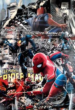 """Caus Schnek """"Spiderman"""" 60x90 cm, Fine-Artprint auf reinweissem Mattpapier, lichtbeständig"""