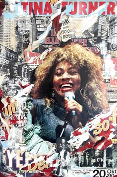 """Claus Schenk """"Tina Turner"""" 60x90 cm, Fine-Artprint auf reinweissem Mattpapier, lichtbeständig"""