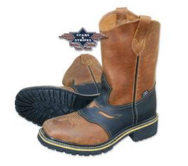 Western - Stiefel ,,WB-32,, Stars & Stripes m. Stahlkappe ACHTUNG!!  Gr. 40 bis 43 erst im Oktober lieferbar.