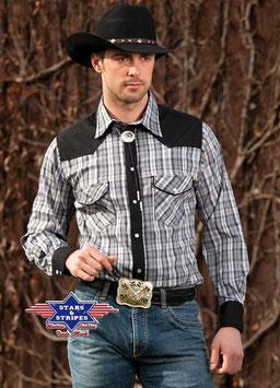 Stars & Stripes   Western - Herrenhemd ,,Brian,,