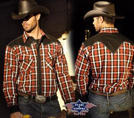 Stars & Stripes   Western - Herrenhemd ,,Jayden,,