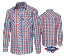 Stars & Stripes   Western - Herrenhemd ,, Lorenzo,,