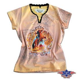 Stars & Stripes   Western - T-Shirt  ,,Wild Horse,,